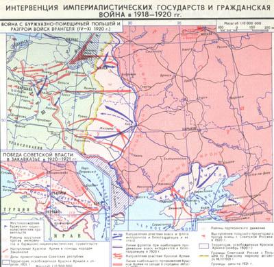Война и иностранная интервенция в